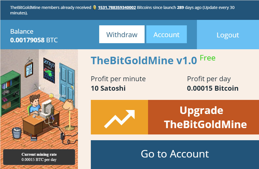 Bitcoin Goldmine