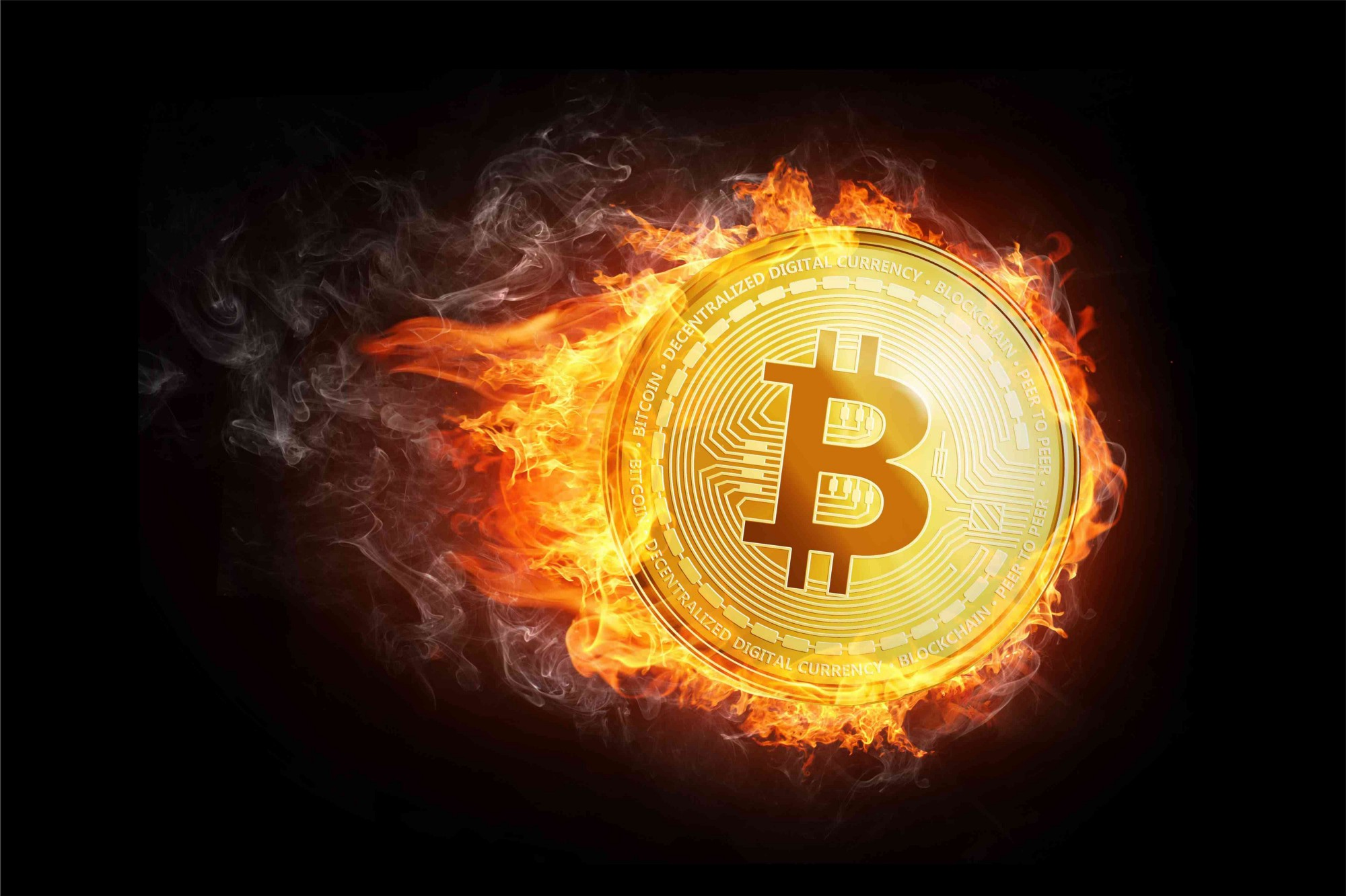 Bitcoin Going Down In Flames?