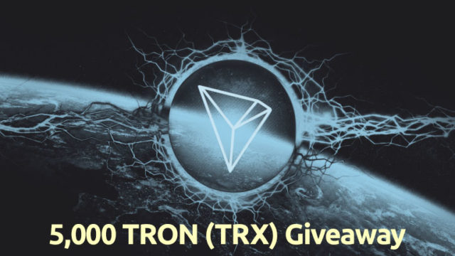 TRON Giveaway May 20 2021