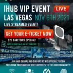 iHub VIP Event Flyer